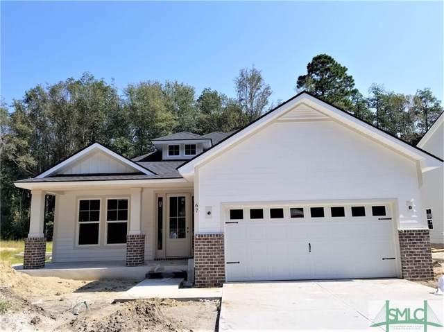 67 Beecher Drive, Richmond Hill, GA 31324 (MLS #207868) :: Keller Williams Coastal Area Partners