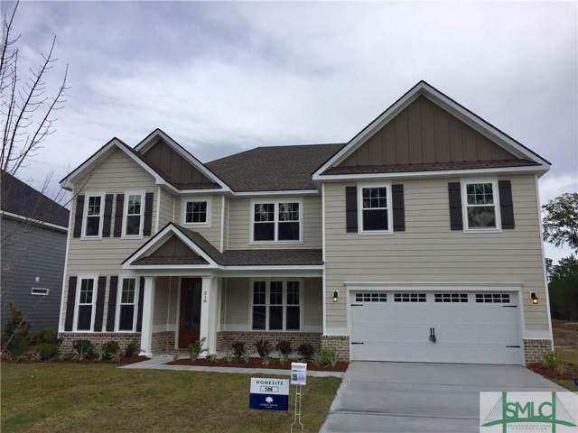 218 Highland Circle, Richmond Hill, GA 31324 (MLS #208860) :: The Arlow Real Estate Group