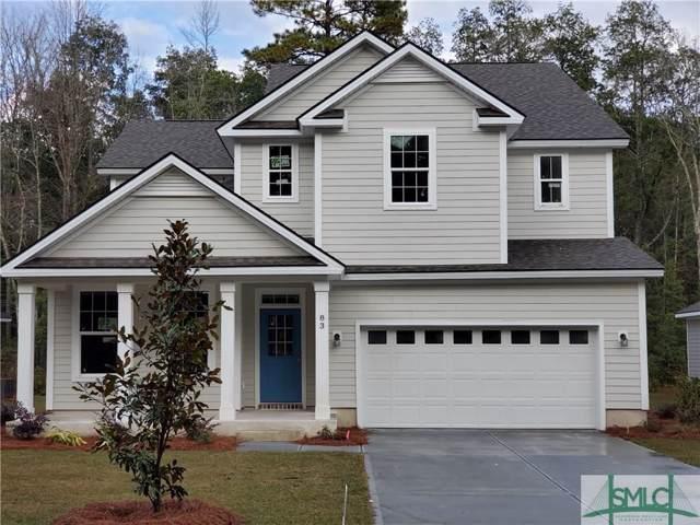 83 Beecher Drive, Richmond Hill, GA 31324 (MLS #209380) :: The Arlow Real Estate Group