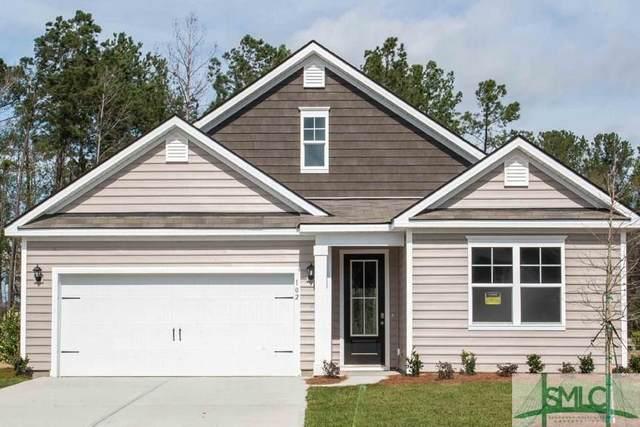 102 Old Wood Drive, Pooler, GA 31322 (MLS #216968) :: The Arlow Real Estate Group