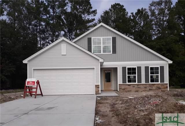 7 Blackberry Circle, Guyton, GA 31312 (MLS #211207) :: The Arlow Real Estate Group