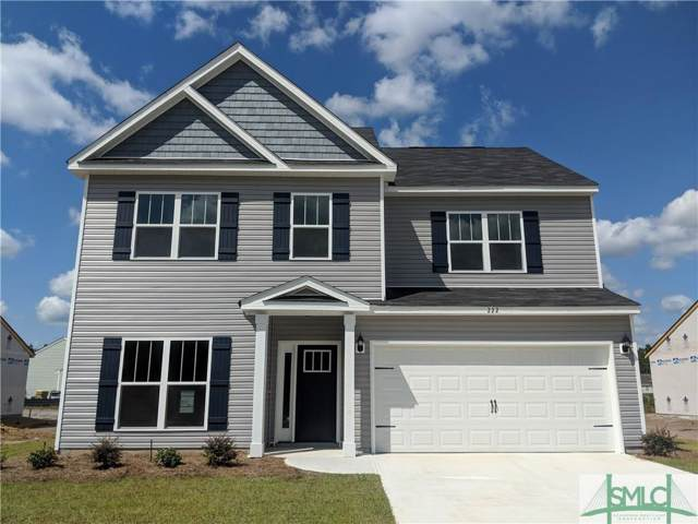 222 Timberlake Drive, Guyton, GA 31312 (MLS #207383) :: Keller Williams Coastal Area Partners