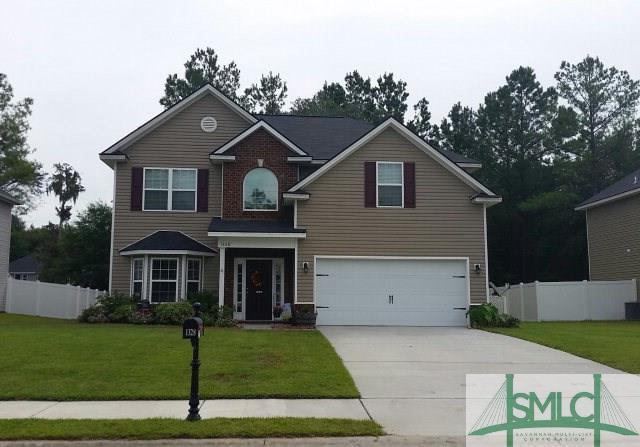 1328 Hill View Circle, Hinesville, GA 31313 (MLS #150571) :: The Robin Boaen Group