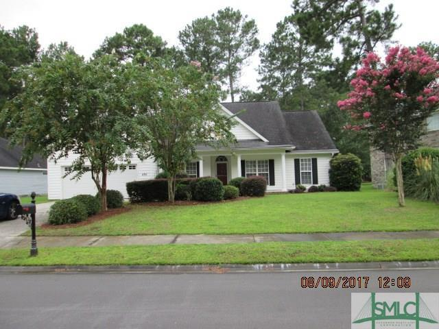 495 Copper Creek Circle, Pooler, GA 31322 (MLS #177832) :: Coastal Savannah Homes