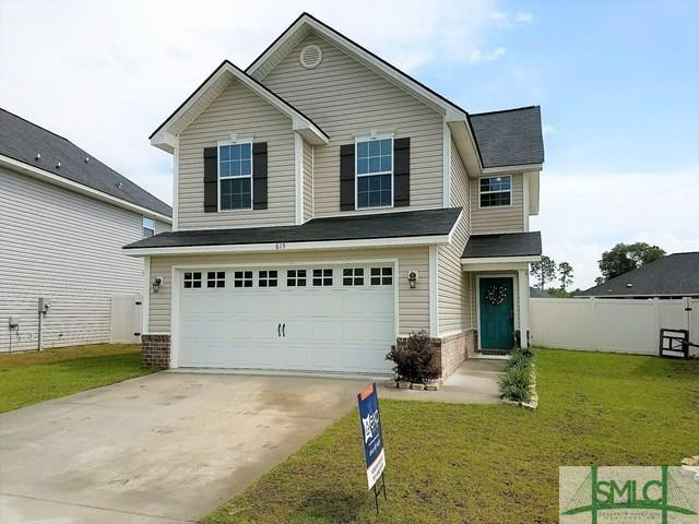 615 Amhearst Row, Hinesville, GA 31313 (MLS #180790) :: The Arlow Real Estate Group