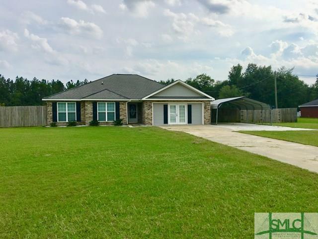 351 Bell Road NE, Ludowici, GA 31316 (MLS #181399) :: The Arlow Real Estate Group