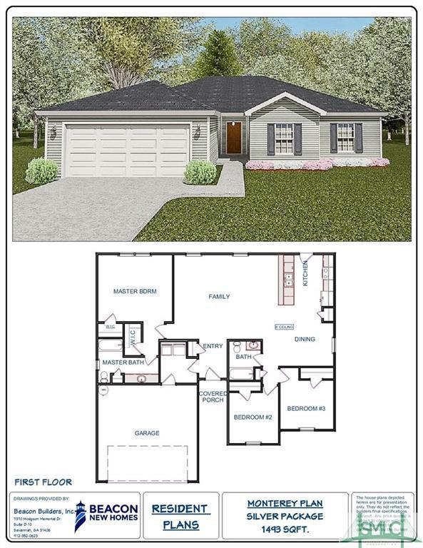 340 Creekside Circle, Ellabell, GA 31308 (MLS #181544) :: Teresa Cowart Team