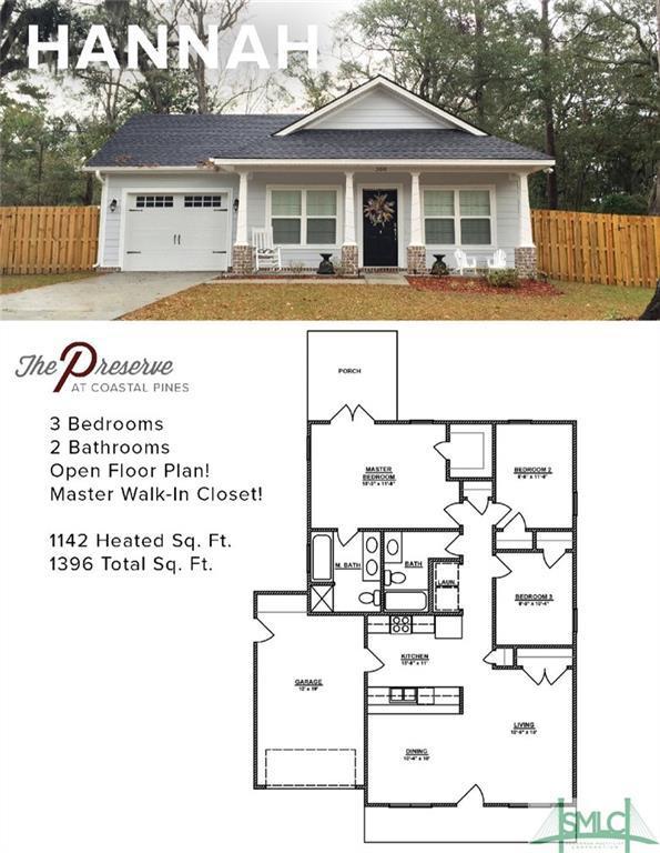110 Wilson Street, Hinesville, GA 31313 (MLS #184947) :: Karyn Thomas