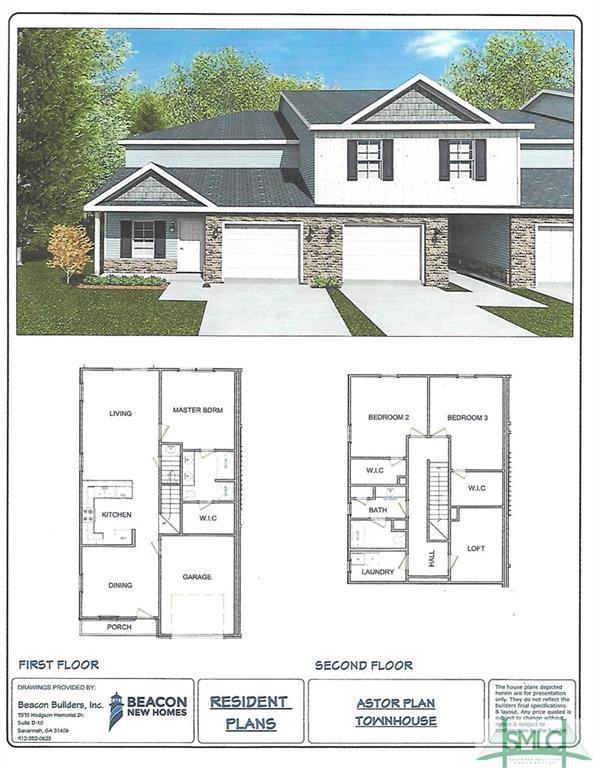 435 Governor Truetlen Circle, Pooler, GA 31322 (MLS #186288) :: The Arlow Real Estate Group
