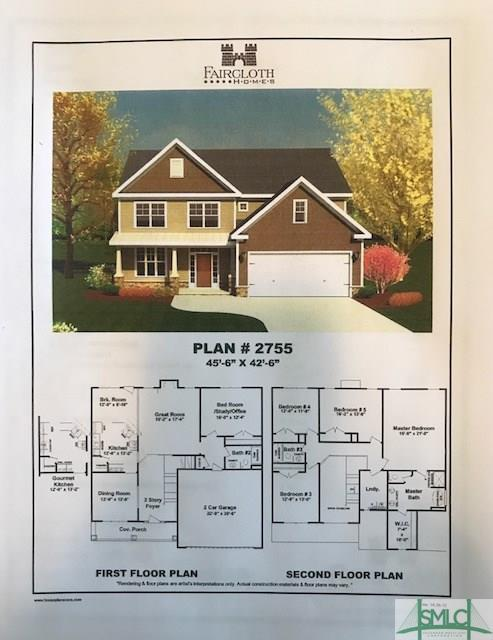 105 Smithwick Trail, Guyton, GA 31312 (MLS #186652) :: The Arlow Real Estate Group