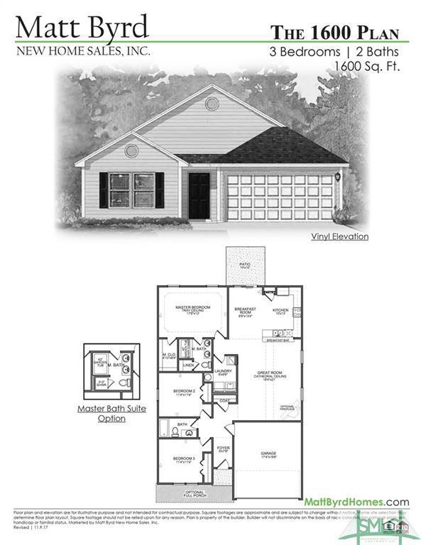 109 Lyn Way, Springfield, GA 31329 (MLS #187966) :: Teresa Cowart Team