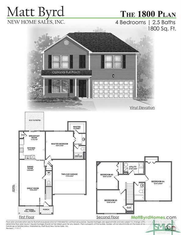 209 Caroline Way, Springfield, GA 31329 (MLS #189709) :: The Robin Boaen Group