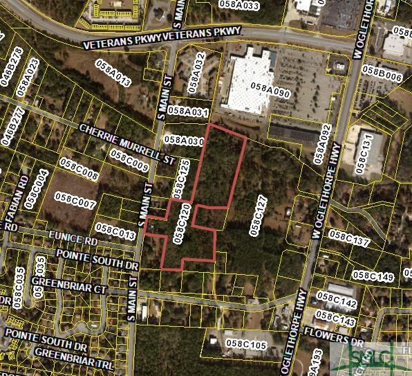 828 S Main Street, Hinesville, GA 31313 (MLS #190427) :: The Arlow Real Estate Group
