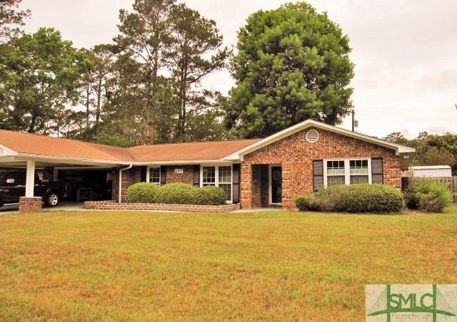 110 Hover Creek Road, Savannah, GA 31419 (MLS #190600) :: Karyn Thomas