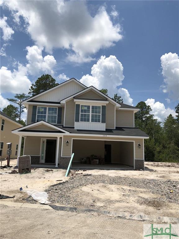 1214 Cypress Fall Circle, Hinesville, GA 31313 (MLS #193465) :: The Arlow Real Estate Group