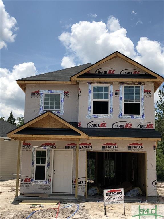1301 Karen Court, Hinesville, GA 31313 (MLS #194178) :: The Arlow Real Estate Group