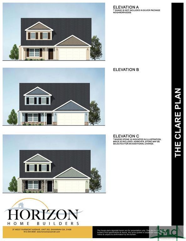 619 Bledsoe Drive, Guyton, GA 31312 (MLS #194441) :: The Randy Bocook Real Estate Team
