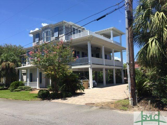 8 Center Place, Tybee Island, GA 31328 (MLS #195421) :: The Sheila Doney Team
