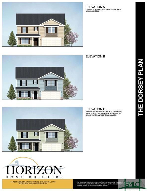629 Bledsoe Drive, Guyton, GA 31312 (MLS #196009) :: The Randy Bocook Real Estate Team