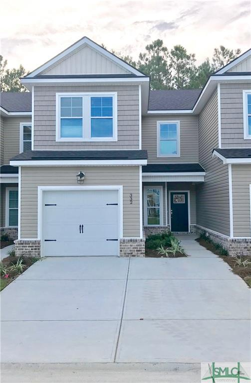 332 Sonoma Drive, Pooler, GA 31322 (MLS #196111) :: The Arlow Real Estate Group