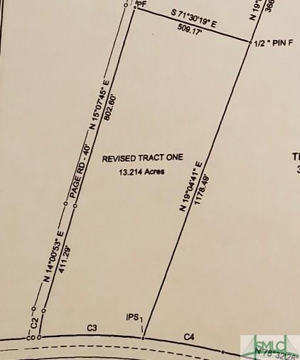 Tract One Wilma Edwards Road, Ellabell, GA 31308 (MLS #196283) :: The Sheila Doney Team