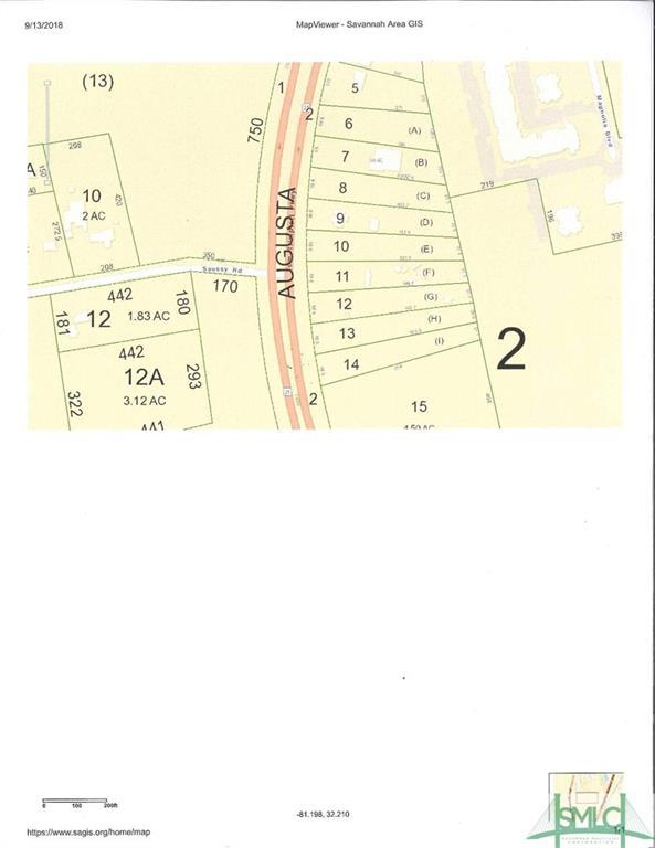 0 Hwy 21 Highway, Port Wentworth, GA 31407 (MLS #196677) :: The Arlow Real Estate Group