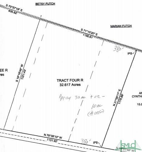 Tract Four Wilma Edwards Road, Ellabell, GA 31308 (MLS #196938) :: McIntosh Realty Team