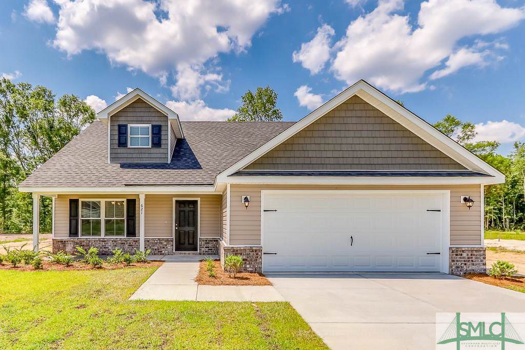 621 Bledsoe Drive, Guyton, GA 31312 (MLS #197886) :: Coastal Savannah Homes