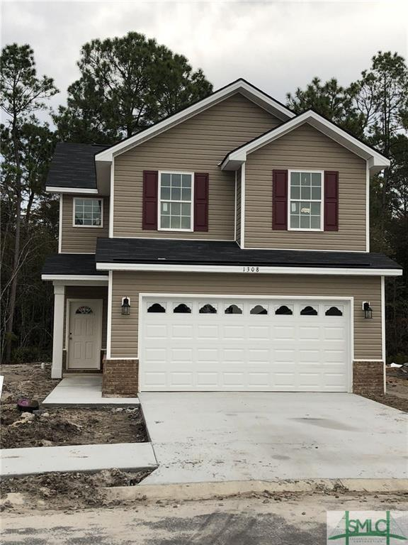 1308 Karen Court, Hinesville, GA 31313 (MLS #198978) :: Teresa Cowart Team