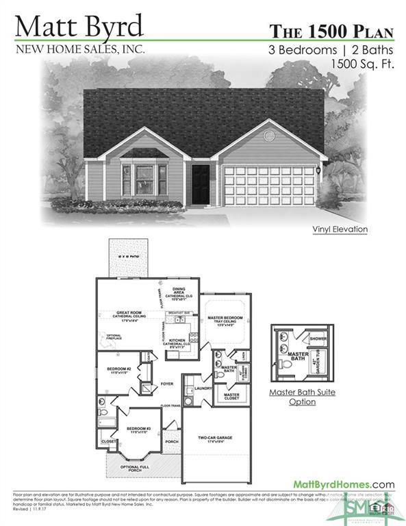 104 Madelyn Grove Way, Springfield, GA 31329 (MLS #199645) :: Teresa Cowart Team