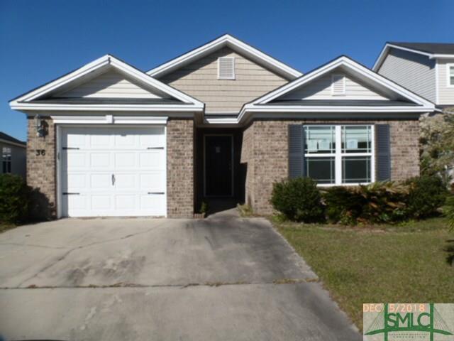 36 Spring Lake Circle, Savannah, GA 31407 (MLS #200093) :: The Randy Bocook Real Estate Team