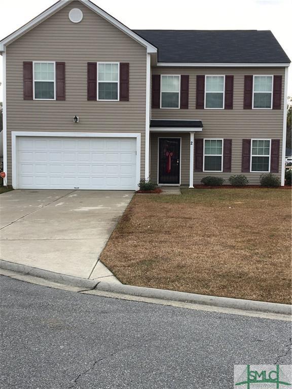 2 Laurel Ridge Court, Port Wentworth, GA 31407 (MLS #200659) :: Keller Williams Realty-CAP