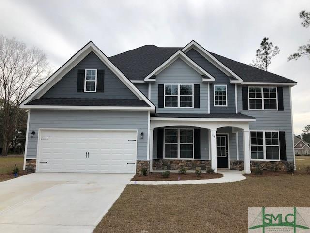104 Cypress Loop, Bloomingdale, GA 31302 (MLS #202021) :: Keller Williams Realty-CAP