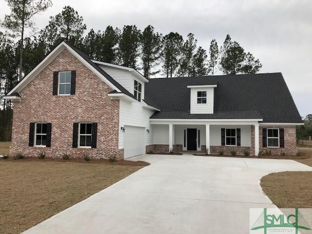 144 Sapphire Circle, Guyton, GA 31312 (MLS #202035) :: Keller Williams Realty-CAP