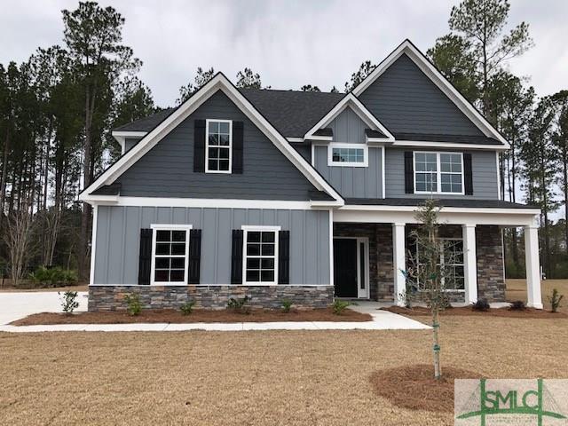 146 Sapphire Circle, Guyton, GA 31312 (MLS #202036) :: Keller Williams Realty-CAP