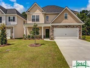 317 Coconut Drive, Bloomingdale, GA 31302 (MLS #203405) :: The Randy Bocook Real Estate Team