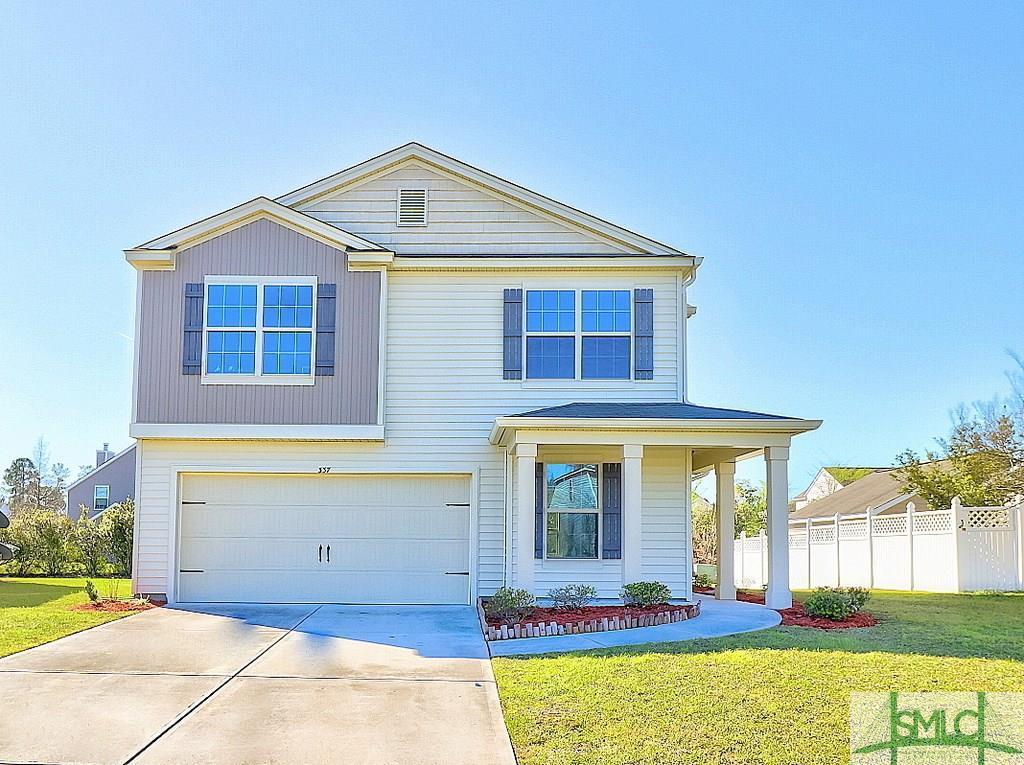 337 Hitching Post Lane, Pooler, GA 31322 (MLS #203989) :: Coastal Savannah  Homes