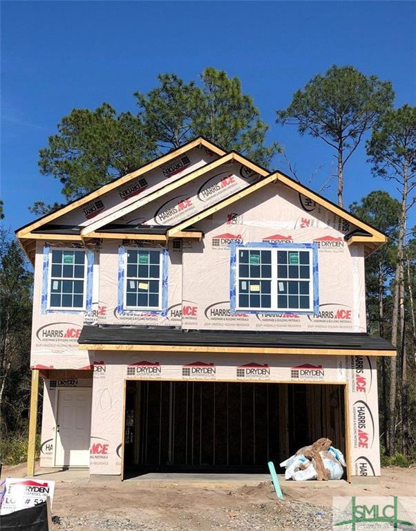 1243 Cypress Fall Circle, Hinesville, GA 31313 (MLS #204043) :: Coastal Savannah Homes