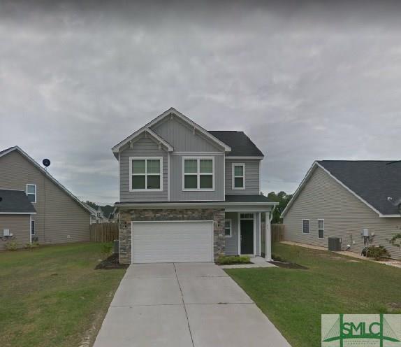 321 Casey Drive, Pooler, GA 31322 (MLS #205030) :: The Arlow Real Estate Group