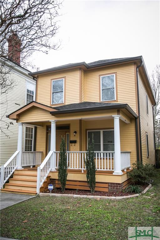 503 E 32nd Street, Savannah, GA 31401 (MLS #207559) :: Coastal Savannah Homes