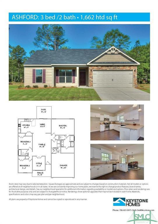 216 Timberlake Drive, Guyton, GA 31312 (MLS #208999) :: The Randy Bocook Real Estate Team