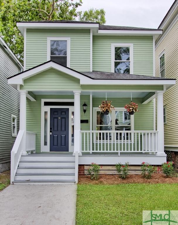 507 E 32nd Street, Savannah, GA 31401 (MLS #210394) :: The Randy Bocook Real Estate Team