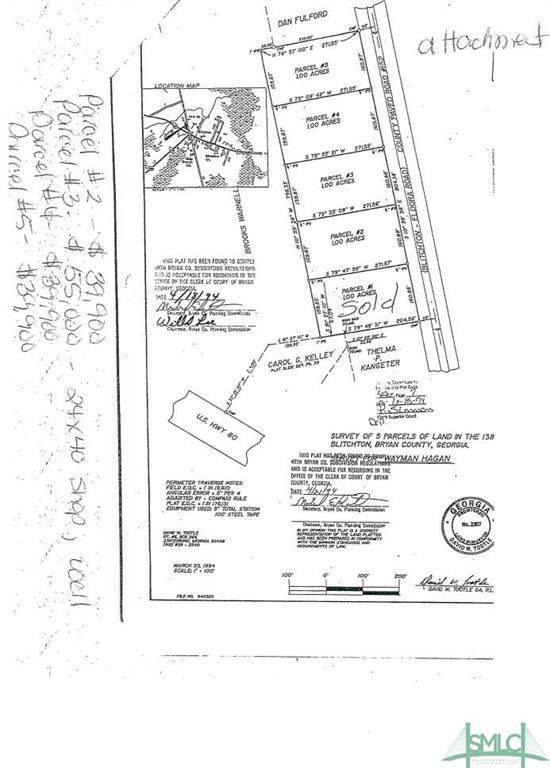 0 Eldora Road, Ellabell, GA 31308 (MLS #214739) :: Robin Lance Realty
