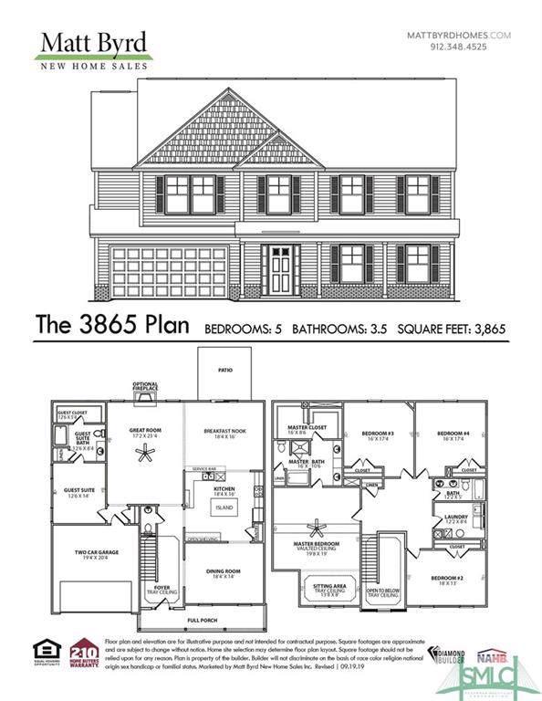 212 Caroline Way, Guyton, GA 31312 (MLS #214815) :: The Arlow Real Estate Group