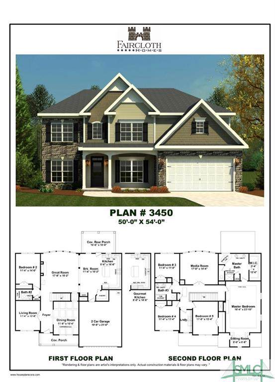 2 St. Anne Court, Guyton, GA 31312 (MLS #215060) :: The Randy Bocook Real Estate Team