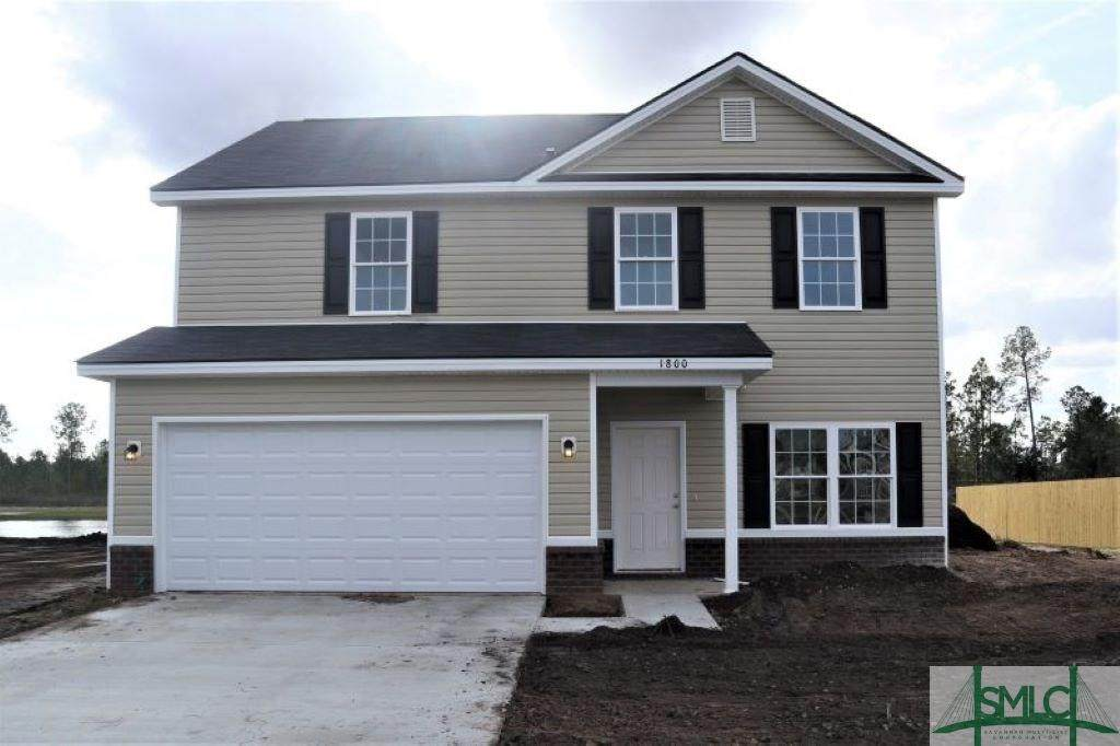 1800 Wiregrass Way, Hinesville, GA 31313 (MLS #215203) :: The Arlow Real Estate Group