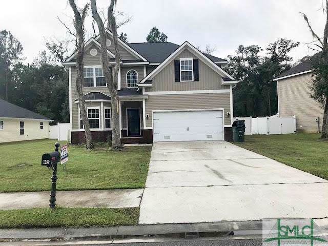 1289 Peacock Trail, Hinesville, GA 31313 (MLS #215364) :: The Arlow Real Estate Group