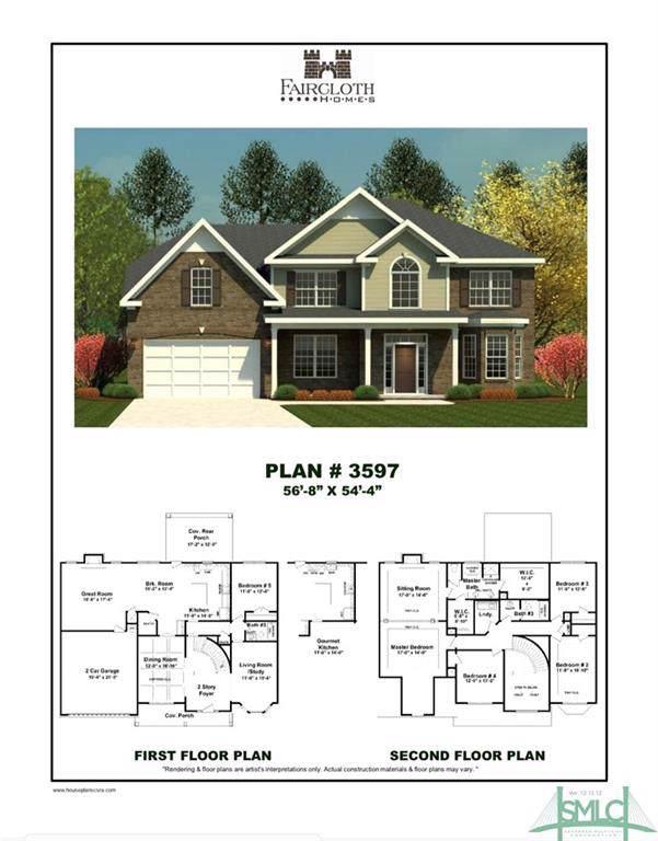 103 Stage Coach Circle, Guyton, GA 31312 (MLS #218076) :: The Randy Bocook Real Estate Team