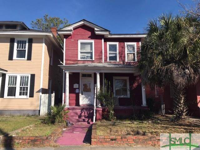 632 W 39th Street A & B, Savannah, GA 31415 (MLS #218171) :: Heather Murphy Real Estate Group