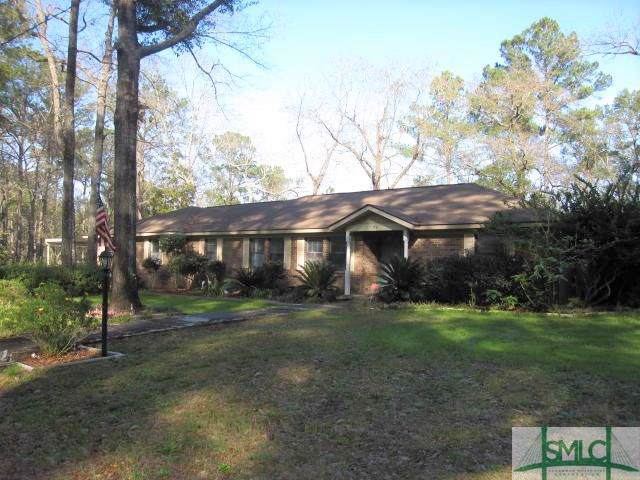 997 Old Augusta Road S, Rincon, GA 31326 (MLS #218716) :: Coastal Savannah Homes